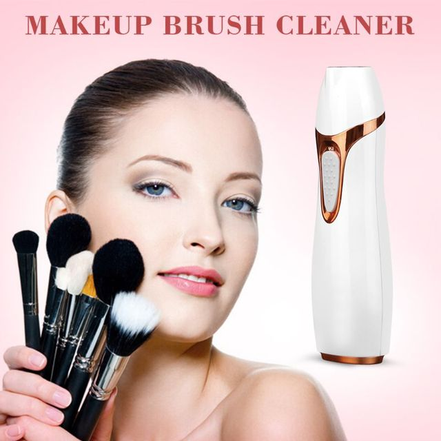Electric Makeup Brush Cleaner Dryer Set Makeup Brushes Washing Tool Quick Dry Protect Bristles Cleaning Device 5