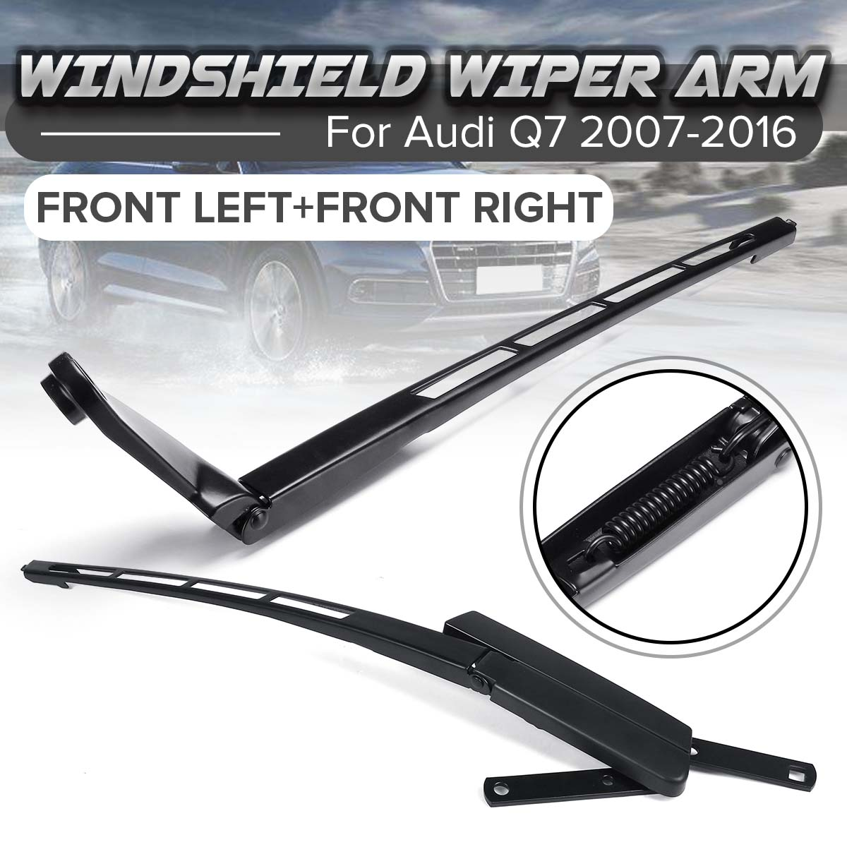 Car Replacement Parts Front Left /Right Driver Side Windshield Wiper Arm For Audi Q7 LHD 2007-2016 4L1955407A /4L1955408B