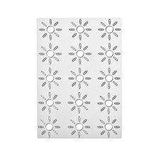 Naifumodo Dies Sunflower Frame Border Metal Cutting New 2019 for Scrapbooking Craft Card Embossing Diecut Template Stencil