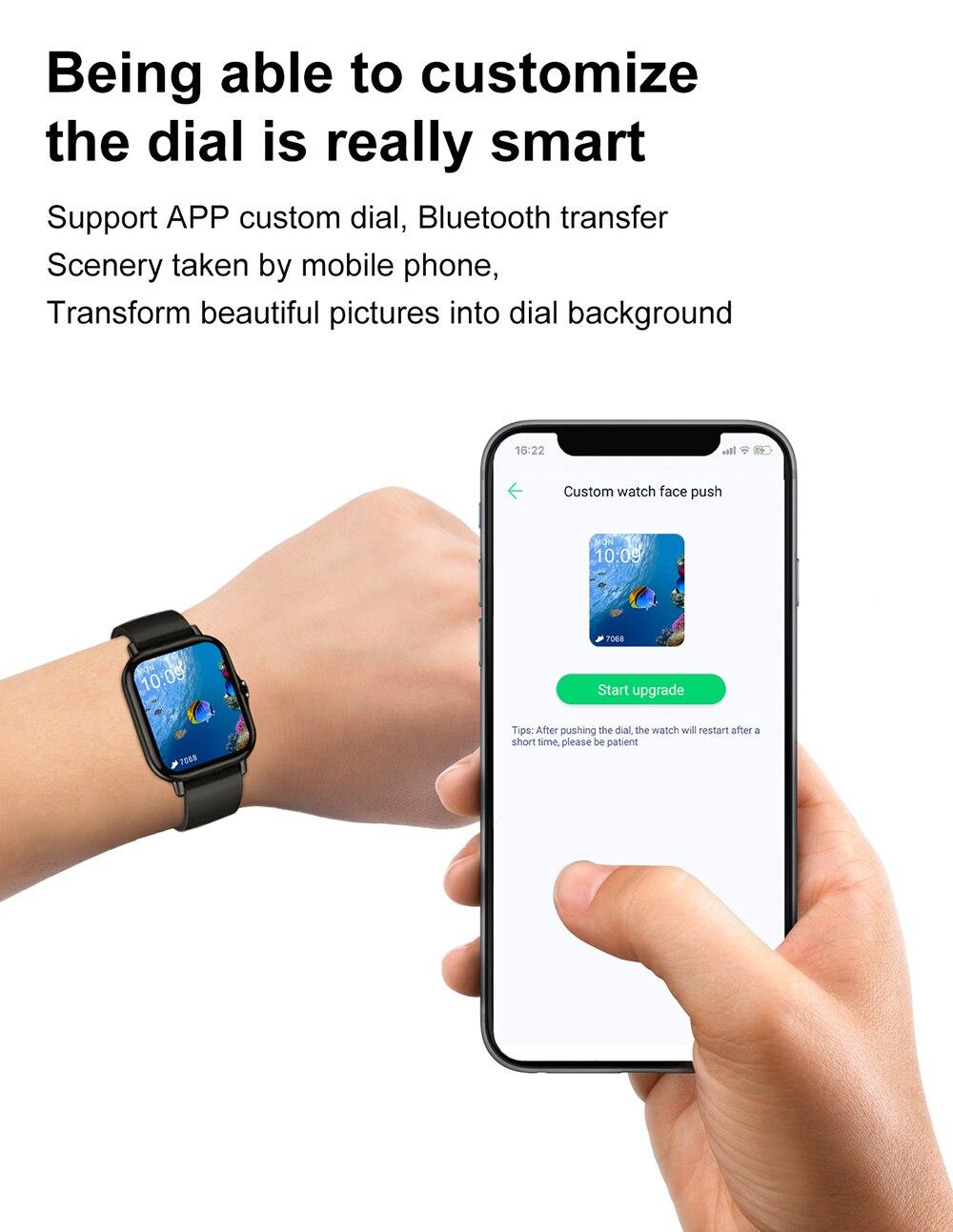 1.78 polegada bluetooth chamada relógio inteligente masculino