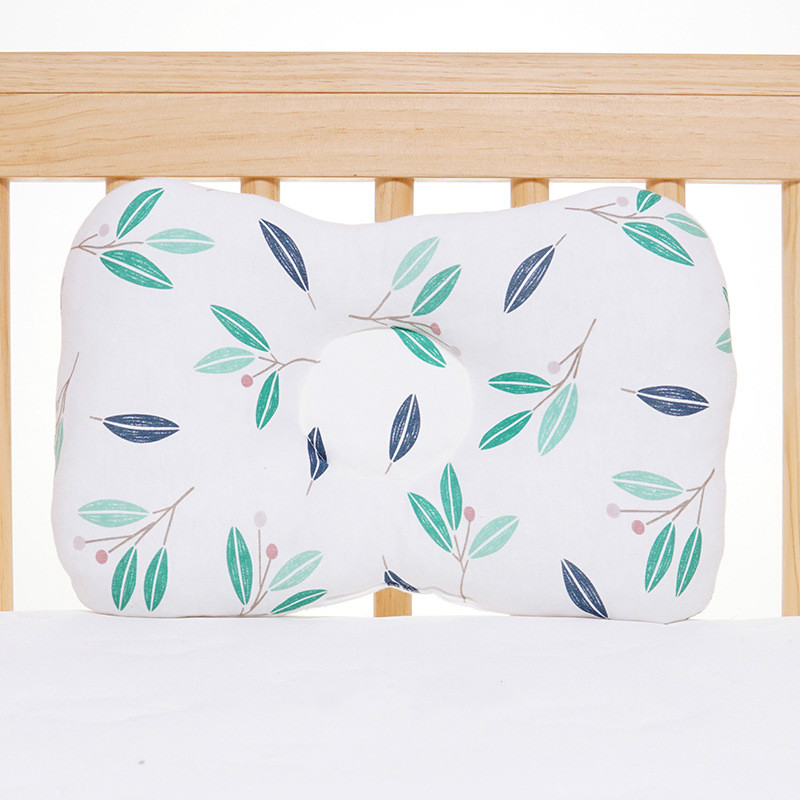 Baby Pillow And Newborn Head Protection Cushion Toddler Anti Roll Sleep Positioner 12