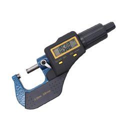 0 25mm elektroniczny zewnętrzny mikrometr 0.001mm duży ekran lcd suwmiarka na narzędzia|Mikrometry|   -