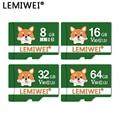 Флэш-карта Lemiwei, 64 ГБ, мини-камера для собак серии Pet, карта 32 ГБ, TF-карта C10 V30 16 ГБ 8 ГБ U1 для сотового телефона, видеорегистратор для вождения