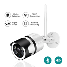Wifi Outdoor IP Camera 1080P 2.0MP Wireless Security Camera Two Way Audio TF Card Record Smart P2P Waterproof Bullet Camera inqmega wifi outdoor ip camera 1080p waterproof wireless security camera two way audio night vision p2p bullet cctv camera