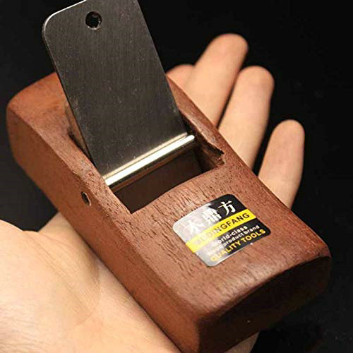 110MM Home & Garden Mini Woodworking Flat Plane Wooden Hand Planer DIY Tool Carpenter Woodcraft Hand Trimming Planing - Wooden