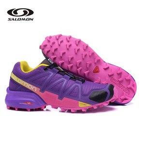 Salomon Speed Cross 4 оригинальная обувь женские кроссовки уличные прогулочные беговые кроссовки оригинальные Tenis Salomon Speed Cross 4