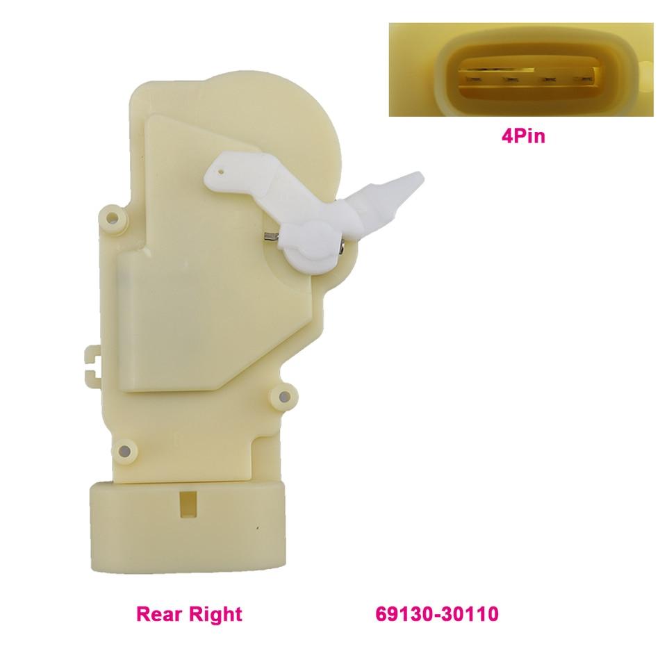 Door Lock Actuator Front Right RH Passenger For Lexus GS400 GS300 GS430 RX300