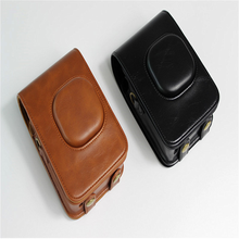 Protective PU Leather Travel Case Replacement Shoulder Bag for Polariod Fujifilm Instax Mini Liplay Instant Camera(China)