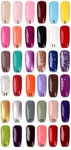 Image 5 - Nail Set Voor Manicure Nagel Uv Gel Manicure Kit 18/10/ 8 Kleuren Gel Polish & Base top Coat Nail Kit Manicure Set