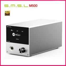 SMSL M500 DAC Headphone AMP MQA ES9038PRO ES9311 XMOS XU-216 32bit 768kHz DSD512 Hi-Res Audio DAC Headphone Amplifier