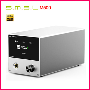 Image 1 - SMSL M500 DAC Headphone AMP MQA ES9038PRO ES9311 XMOS XU 216 32bit 768kHz DSD512 Hi Res Audio DAC Headphone Amplifier
