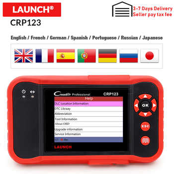 Launch Creader Crp123 OBD 2 diagnostic tool For ABS/SRS/GearBox/Engine System OBD2 Code Reader Launch crp123 PK NT650 Creade 8 - DISCOUNT ITEM  20% OFF All Category