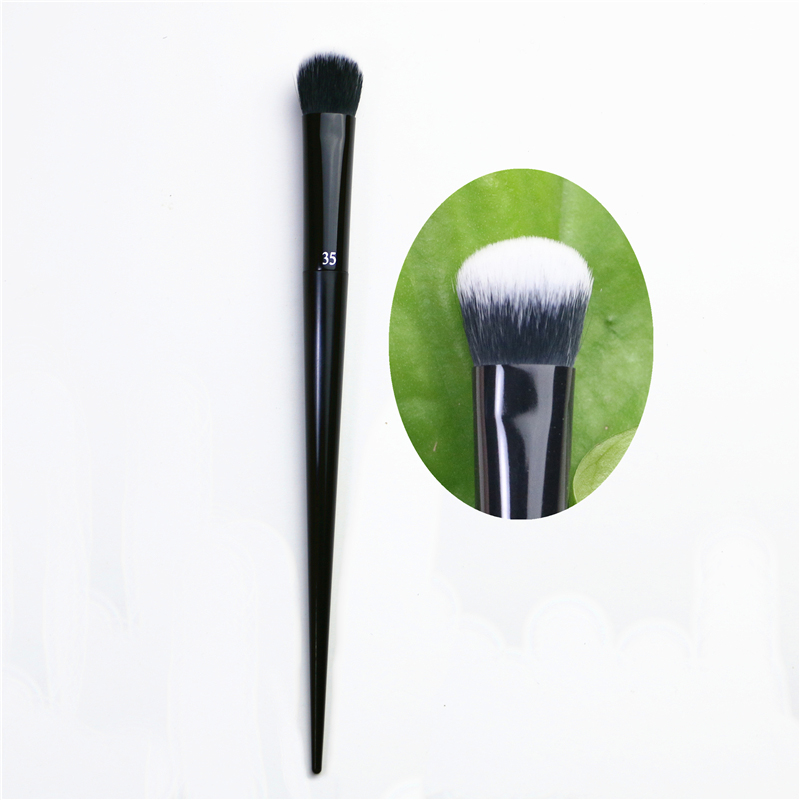 K35Liquid Foundation Brushe Concealer Broom Shape Foundation Brush Foundation Concealer Brush Beauty Brush Foundation Brush Flat