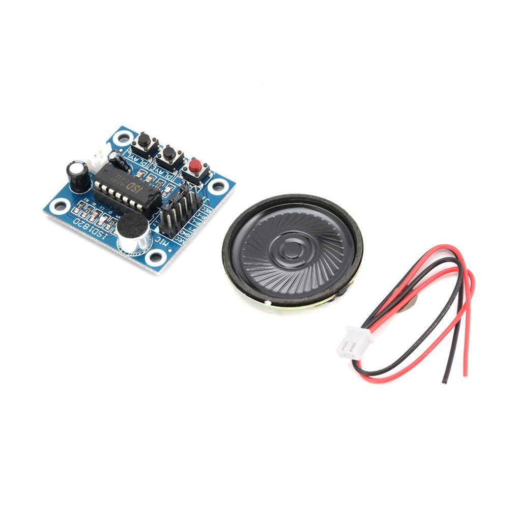 ISD1820 10s Mic Voice Sound Playback Board Recording Recorder Module Kit Microphone Audio Speaker Loudspeaker For Arduino