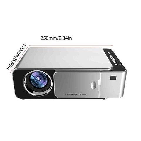 hdmi usb suporte 4 k 1080p cinema casa proyector beamer
