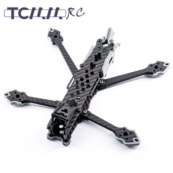 TCMMRC Avenger 225HD fpv drone frame 5 inch frame carbon fiber quadcopter  racing drone kit for Protection HD Digital System alien fpv 7 inch 5 inch pure carbon fiber 300mm 225mm quadcopter mini drone frame kit