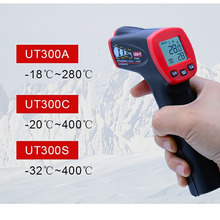 UNI-T ANTI CORONAVIRUS Non Contact Laser Infrared Digital Ir Thermometer Gun LCD display Temperature Measuring Degree Tester contact type thermometer uni t ut320a ut320d thermocouple single dual channel k j temperature tester data hold max min avg