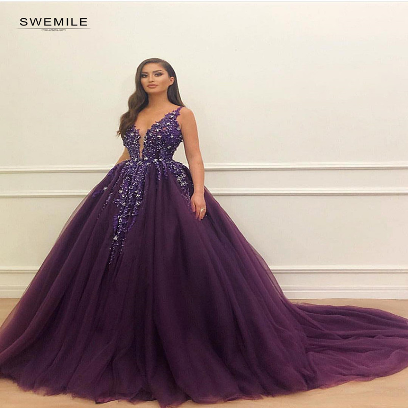 Vestidos De gala Sexy Spaghetti Strap   Prom     Dresses   Long Luxury V-neck Beading Ball Gowns Party   Dresses   vestido De Festa Longo