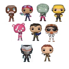 Funko POP 9pcs/lot Fortnit The Fortress night Vinyl Dolls Action Figure Collection Articles Toys Life Decoration Children Gifts