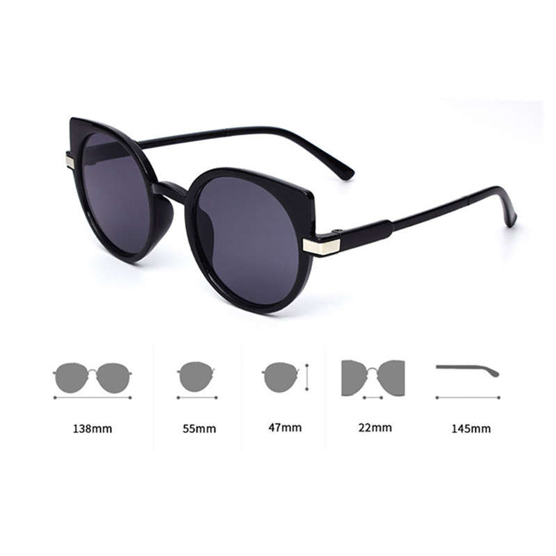 Classic Fashion Cat Eyes Women Sunglasses Sexy Designer Trend Products Glasses Adult
