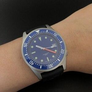 Image 5 - ساعة يد ميكانيكية 200 متر من steelالغوص على شكل سمك القرش ساعة يد رجالية أوتوماتيكية C3 فائقة مضيئة طراز 1979 ساعات أوتوماتيكية طبق الاصل للرجال