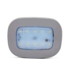 Safego luz de lectura de coche LED Universal, lámpara magnética recargable por USB para techo de coche, luz nocturna blanca de 5V CC