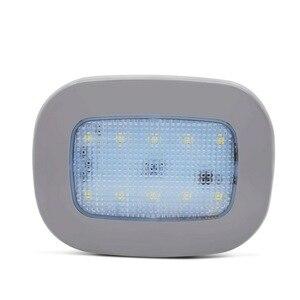 Image 1 - Safego luz de lectura de coche LED Universal, lámpara magnética recargable por USB para techo de coche, luz nocturna blanca de 5V CC