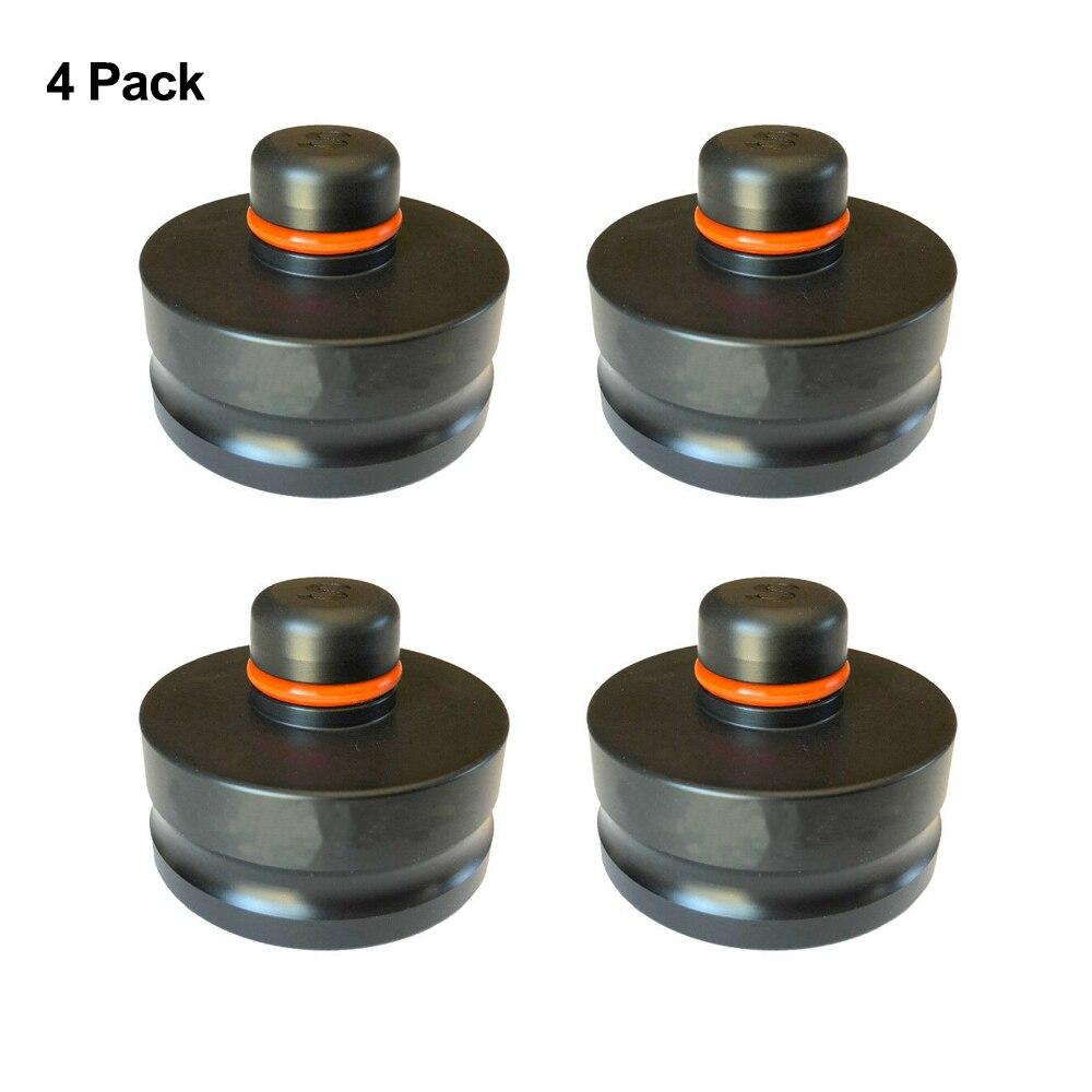 4 pièces voiture outils de style Jack ascenseur Point Pad adaptateur Jack Pad outil châssis dédié pour Tesla modèle S pour Tesla modèle X