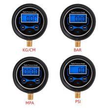 Digital Tire Pressure Gauge Car Bike Motorcycle Tyre Tester Air PSI Meter 1/8NPT