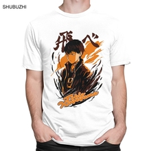 Haikyuu T-Shirt Volleyball-Manga Graphic Kageyama Short-Sleeves Cotton Tee O-Neck Anime