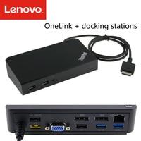 ThinkPad/Lenovo OneLink docking station 2016 X1 Carbon S2 S3 external conversion cable Transfer network port VGA audio port USB