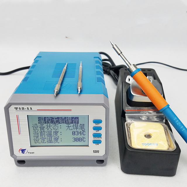 Lead free T12 11 Soldering Station Electronic Repair Thermostat for Mobile Phone Repair Tools