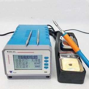 Image 1 - 鉛フリーT12 11はんだステーション電子修理サーモスタット携帯電話の修理ツール