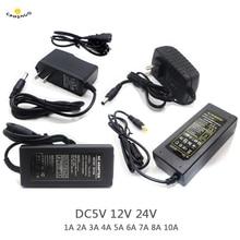 Bộ Đổi Nguồn Cung Cấp DC 5V 12V 24 V 1A 2A 3A 5A 6A 8A DC 5 12 24 V Volt Chiếu Sáng Biến Hình Đèn Lái Điện Dải Đèn