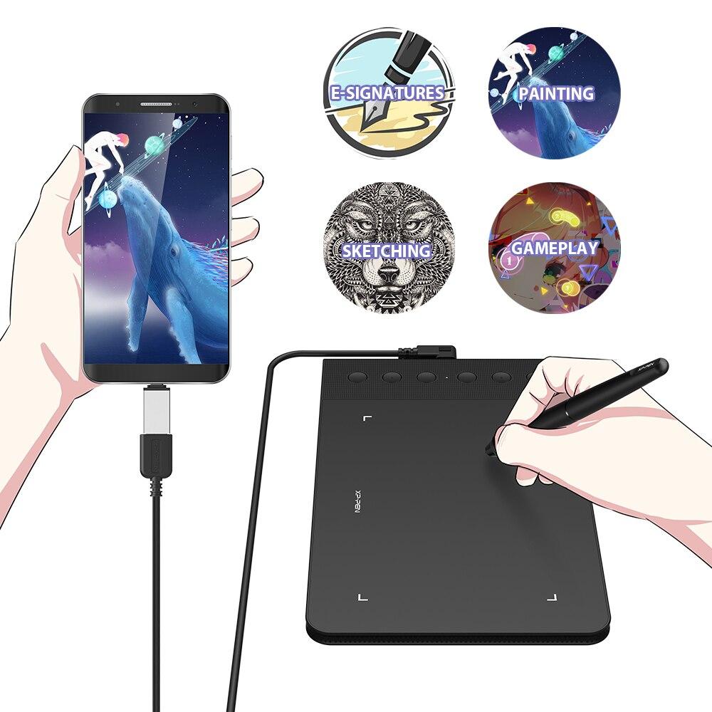 XP-stylo Star G640S tablette graphique dessin tablette numérique stylo tablettes pour OSU! Avec stylet pression 8192 pour Android - 2