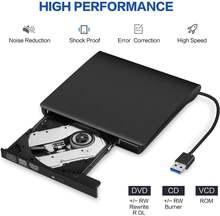 Внешний привод dvd cd внешний usb 30 +/  rw устройство портативный