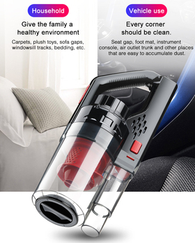 6Kpa 150W Handheld Mini Car Vacuum Cleaner for Home Wireless Wet And Dry Dual-Use Auto Assessoires