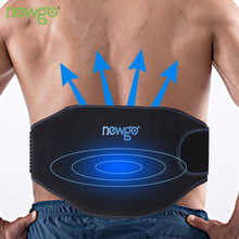 Reusable Ice Pack For Injuries Gel Wrap Hot Cold Therapy Pain Relief with Straps Back Shoulders Waist Refrigerator Cooler Bag(China)