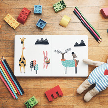 Funlife Cute Bear Animals Wall Sticker for Kids Room PVC Decorative Wall Sticker DIY Art Mural Nursery Baby Children Room Decor