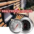 Backformen Edelstahl BBQ Raucher Pit Grill Bimetall thermometer Temp Gauge mit Dual Gage 500 Grad Kochen Werkzeuge