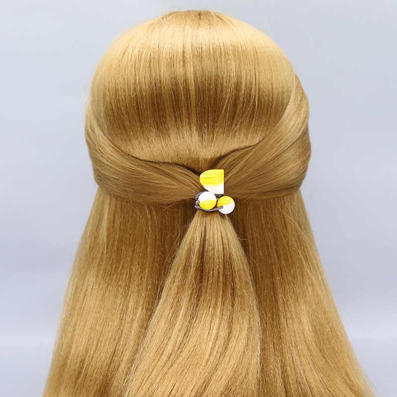 Cyhgm meninas elásticas faixas de cabelo veludo cetim scrunchies pacote cabelo accesorios cheveux femme durag navidad gumki do wlosow F01-4
