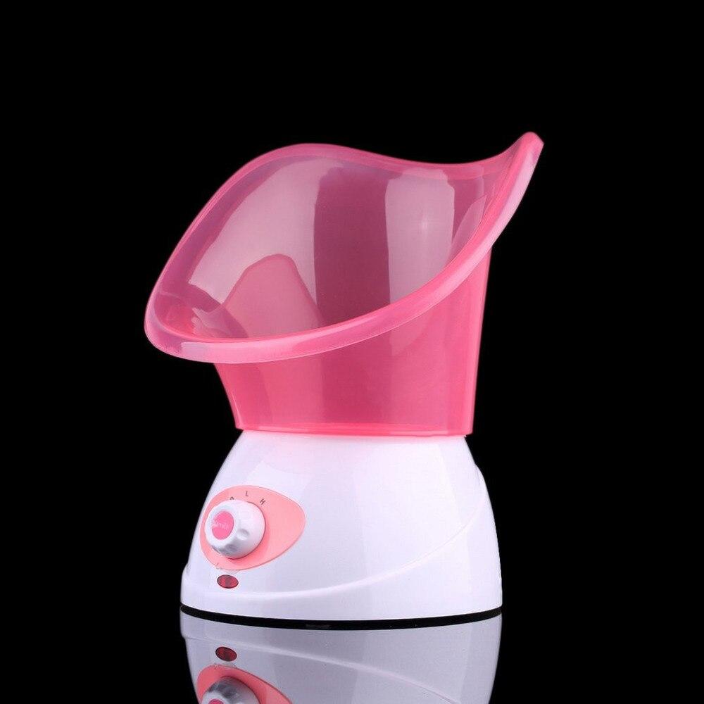 Facial Face Steamer Humidifier Facial Spa Sprayer Skin Renewal Refresh Mist Warm Steam Travel Face Steamer EU Plug