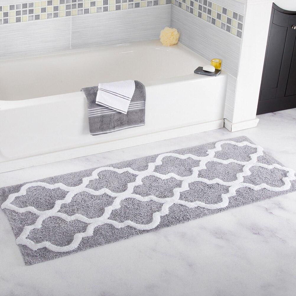 Напольный коврик водопоглощающий Коврик для двери, Нескользящие Коврики для спальни, ковер для ванной комнаты, кухни, гостиной, двери, вход 45x120 см A30|Коврики для ванной|   | АлиЭкспресс