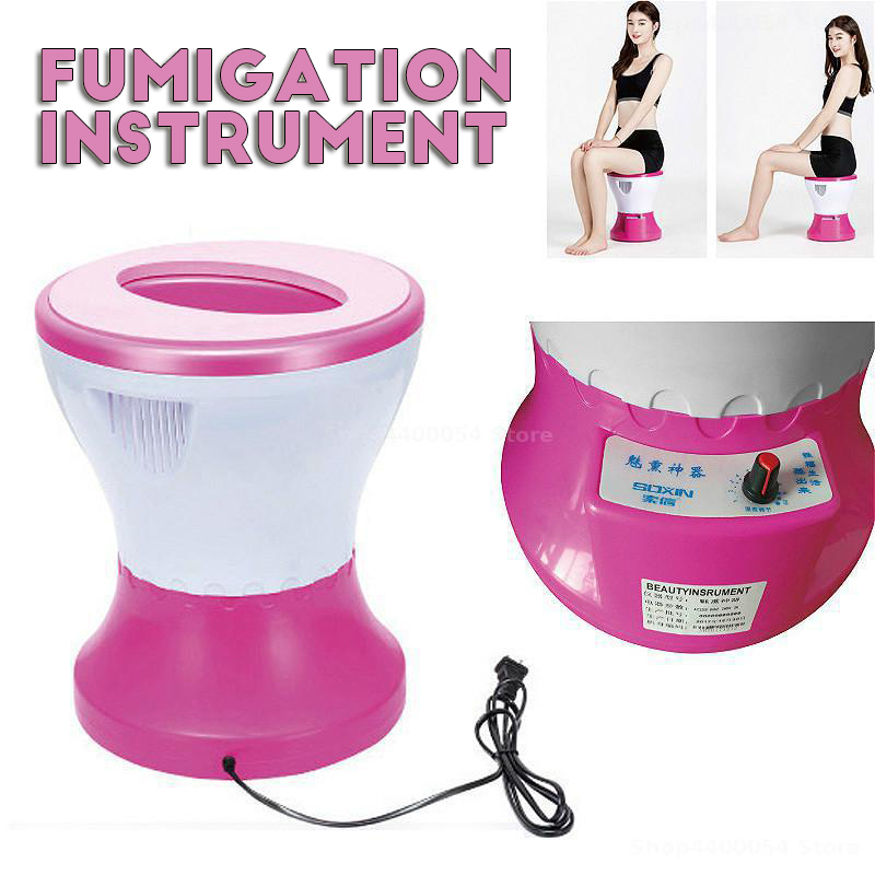 220V Portable Mini Steam Fumigation Instrument Vaginal Detox Steam Gynecological Andrology Medical Women Health Care Steam Seat