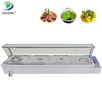 Restaurant Kochen Ausrüstung Elektrische Bain Marie Buffet Essen Wärmer Maschine Mit Fünf Suppe Topf Von EINE Hohe Qualität|Küchenmaschinen|   -