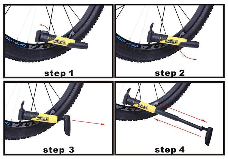 Gonfleur de vélo vélo pompe à Air vélo gonfleur Super léger Mini Portable haute résistance pompe à main accessoires de vélo