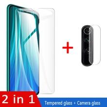 2 в 1 закаленное стекло для Xiaomi Redmi Note 8 pro защита для объектива камеры пленка red mi note8 note8pro Защитное стекло для экрана