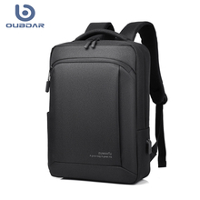 OUBDAR 2020 New Anti Theft Oxford Men Laptop Backpacks School Fashion Travel Male Mochilas Women Schoolbag USB Charging backpack