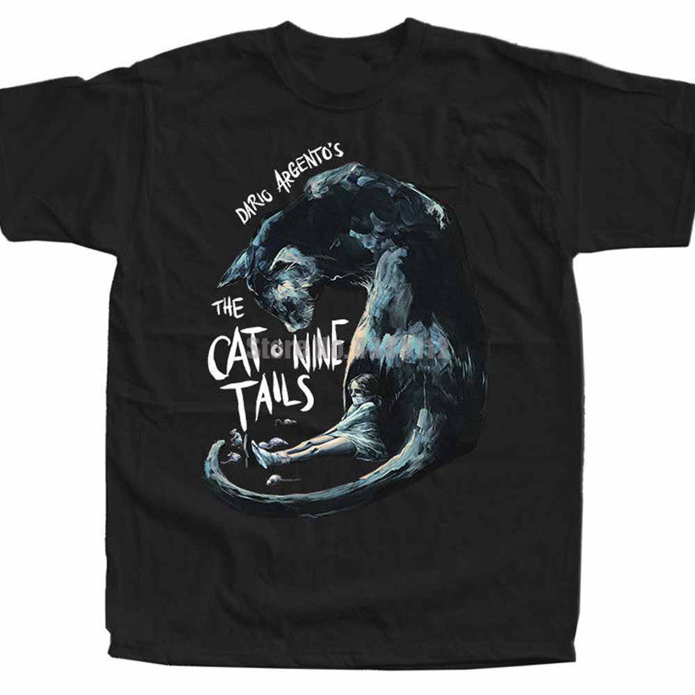 The Cat O' Nine Tails Il Gatto A Nove Code Mens Gothic Tshirts Skull T-Shirt Sloth Tshirts Sports T-Shirts Ilizur image