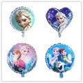 Disney замороженные Тема 18 дюймов Baby Shower вечерние надувные шары из алюминиевой фольги украшение шары вращаться на воздушном шаре принадлежнос...